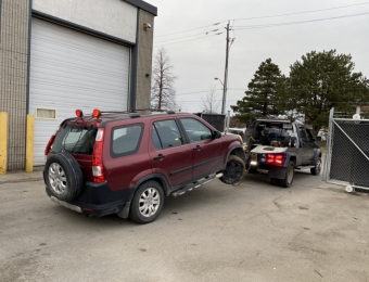 Scrap your car for cash in Barrie
